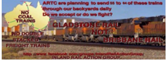 stop coal trains going through brisbane